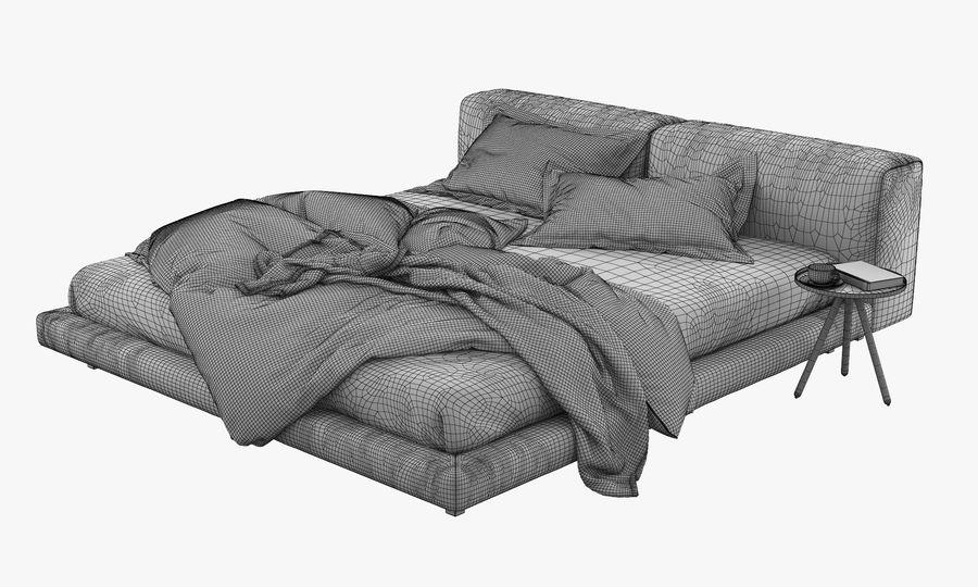 Living divani softwall bed 3d model 25 obj max free3d for Living divani softwall