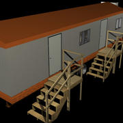 Construction Trailer.zip 3d model