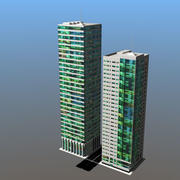 2Buildings_3ds 3d model