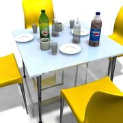 table and chairs_02.zip 3d model