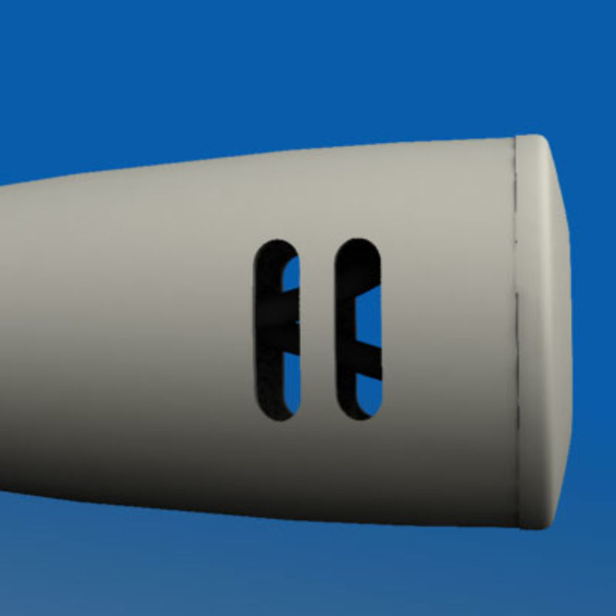 Microphone PC royalty-free 3d model - Preview no. 3