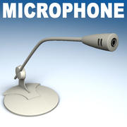 PC microphone 3d model