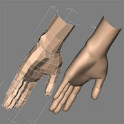 AAAHandFemale.max 3d model