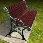 Cast Iron Bench.zip 3d model