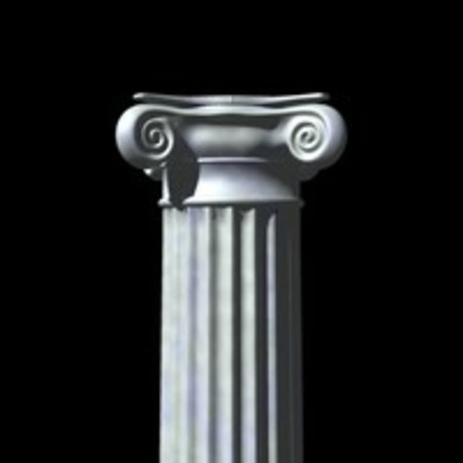 Column 1 royalty-free 3d model - Preview no. 1