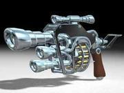 Gun_c4d 3d model