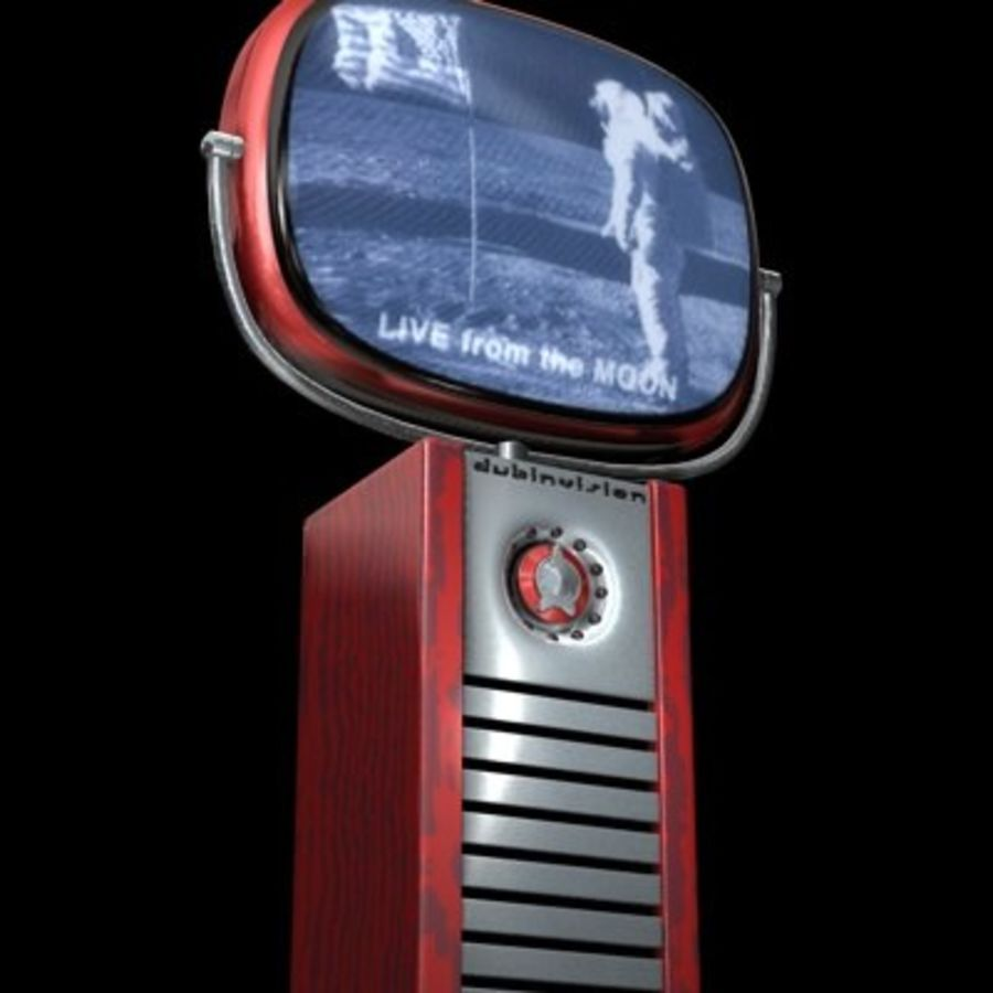 Philco Predictra TV.zip royalty-free modelo 3d - Preview no. 2