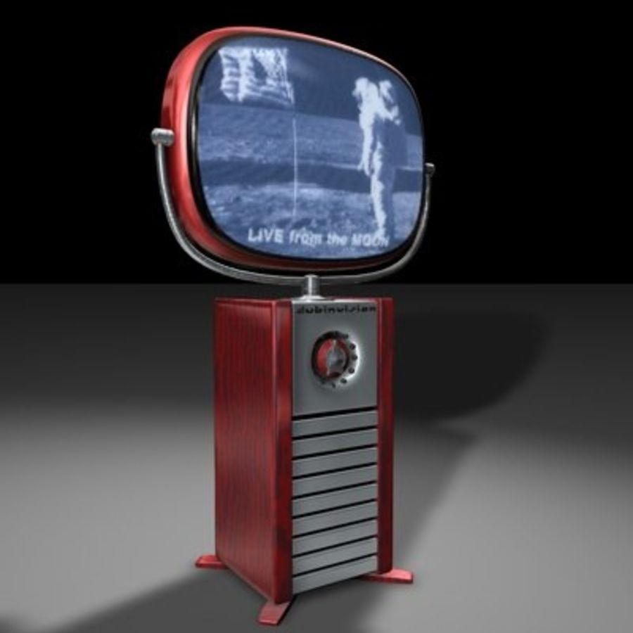 Philco Predictra TV.zip royalty-free modelo 3d - Preview no. 1