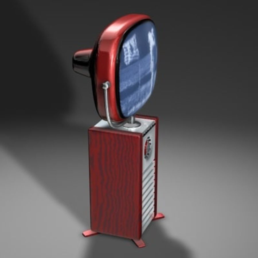 Philco Predictra TV.zip royalty-free modelo 3d - Preview no. 3