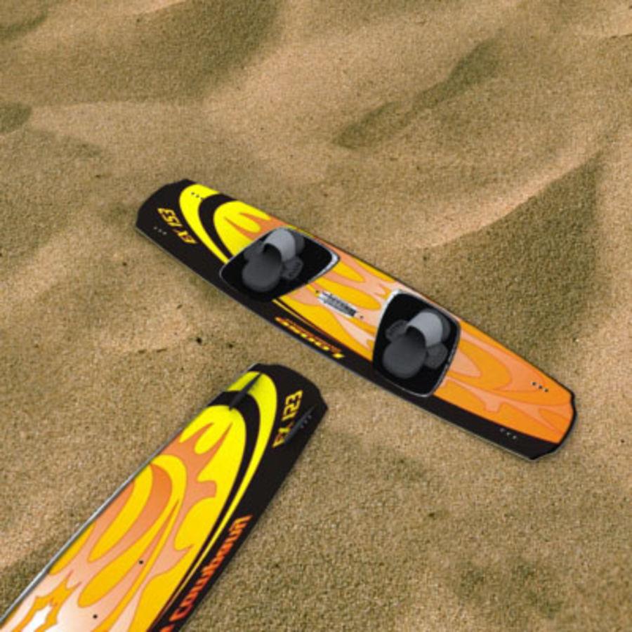Kiteboard - replica Kiteloose royalty-free 3d model - Preview no. 1