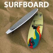 Wakeboard per il kitesurf 3d model