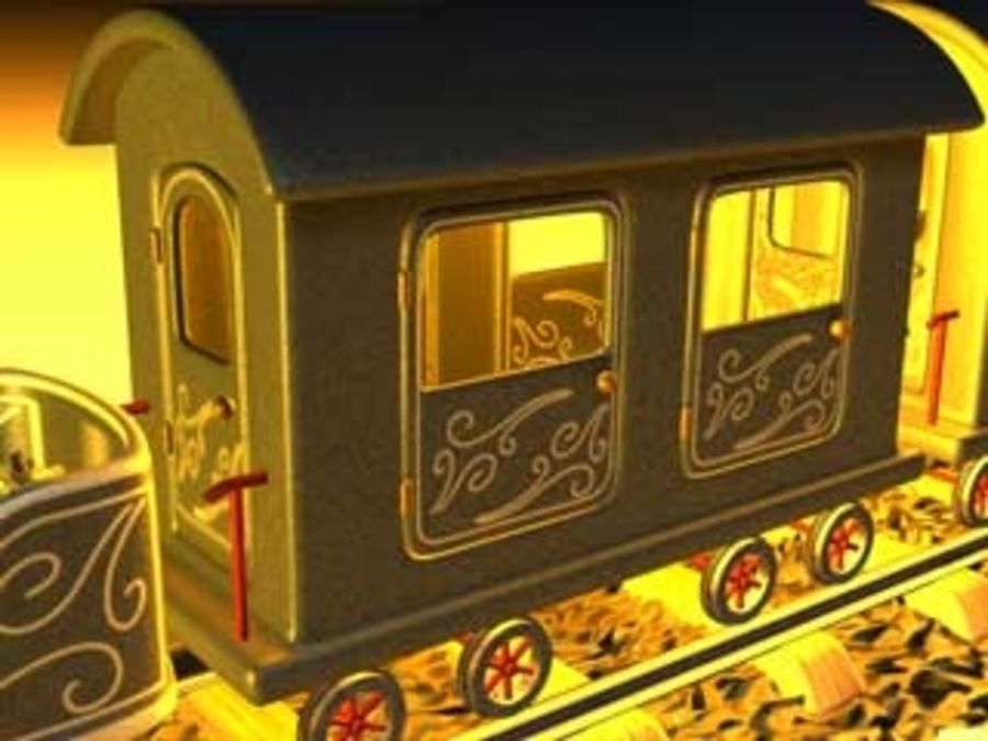 train_c4d.zip royalty-free 3d model - Preview no. 3
