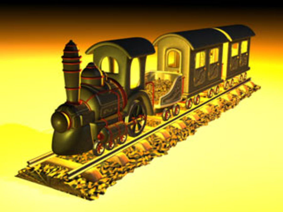train_c4d.zip royalty-free 3d model - Preview no. 1