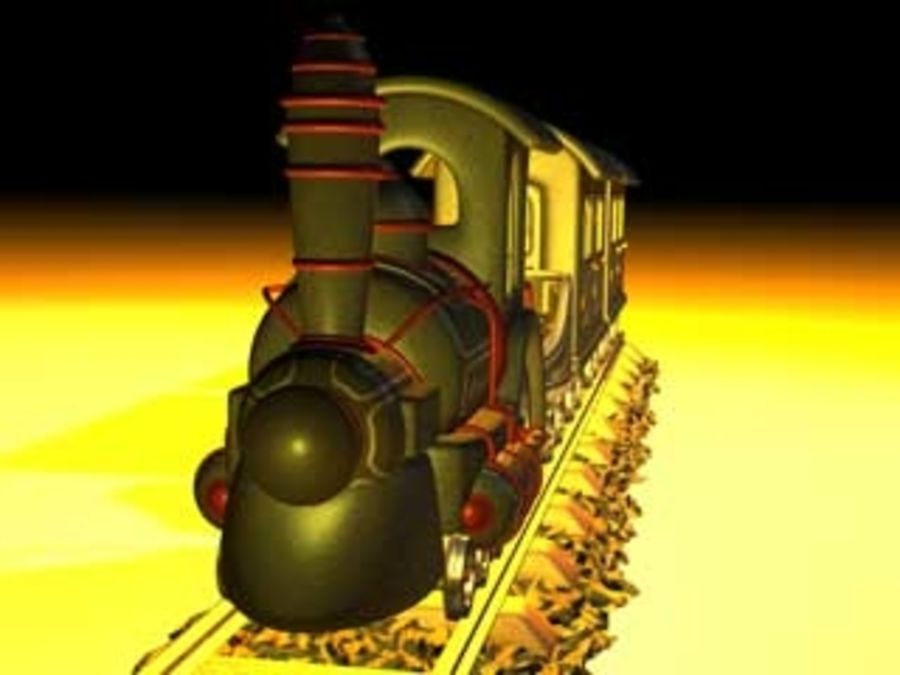 train_c4d.zip royalty-free 3d model - Preview no. 4