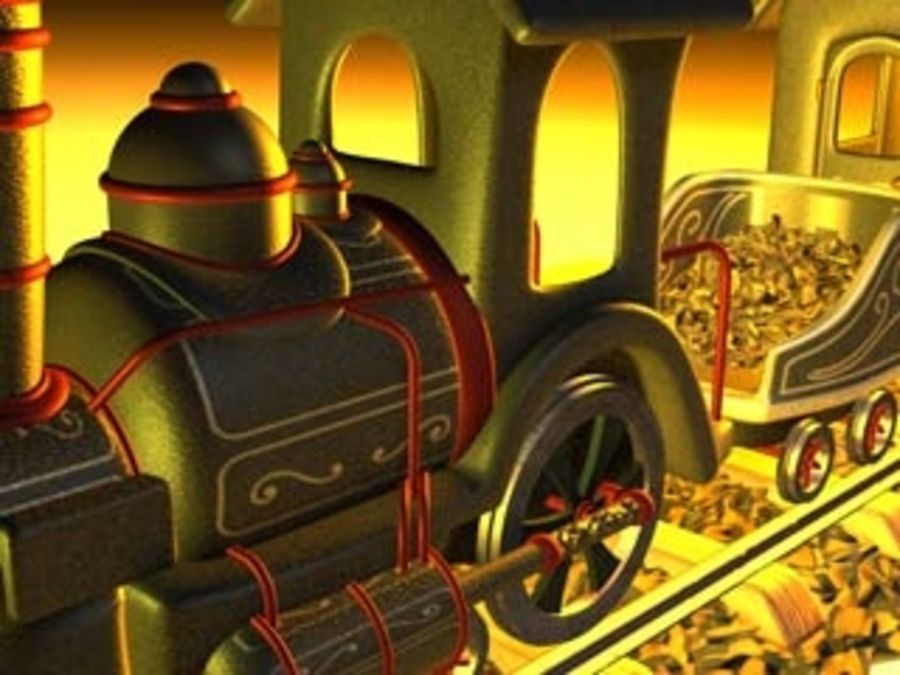 train_c4d.zip royalty-free 3d model - Preview no. 2