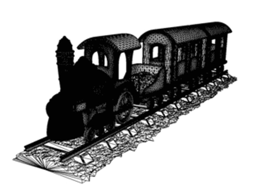 train_c4d.zip royalty-free 3d model - Preview no. 5
