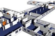 3d_office_axo_plan_01 3d model
