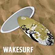 Wakesurf 3d model