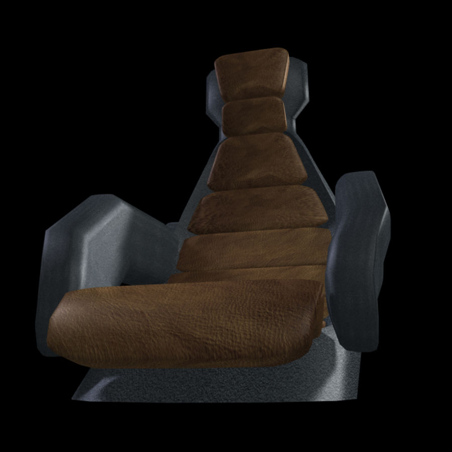 Starship Seat (Max) royalty-free 3d model - Preview no. 2