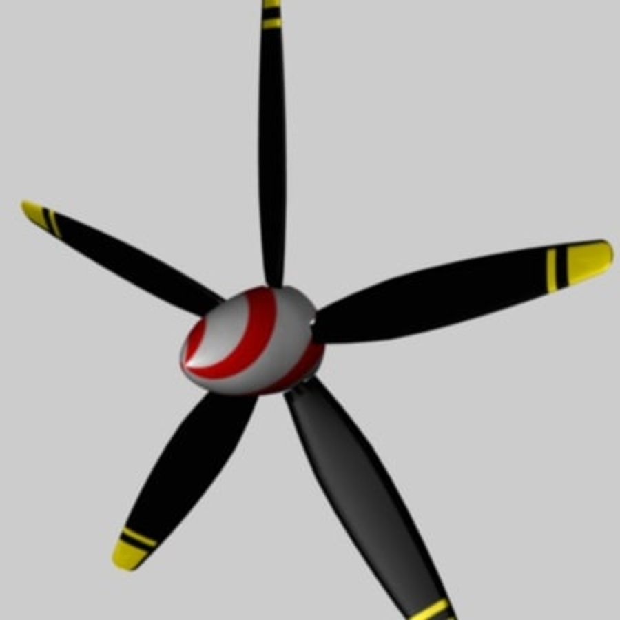 Prop / Airscrew Factory-3ds.zip royalty-free 3d model - Preview no. 1