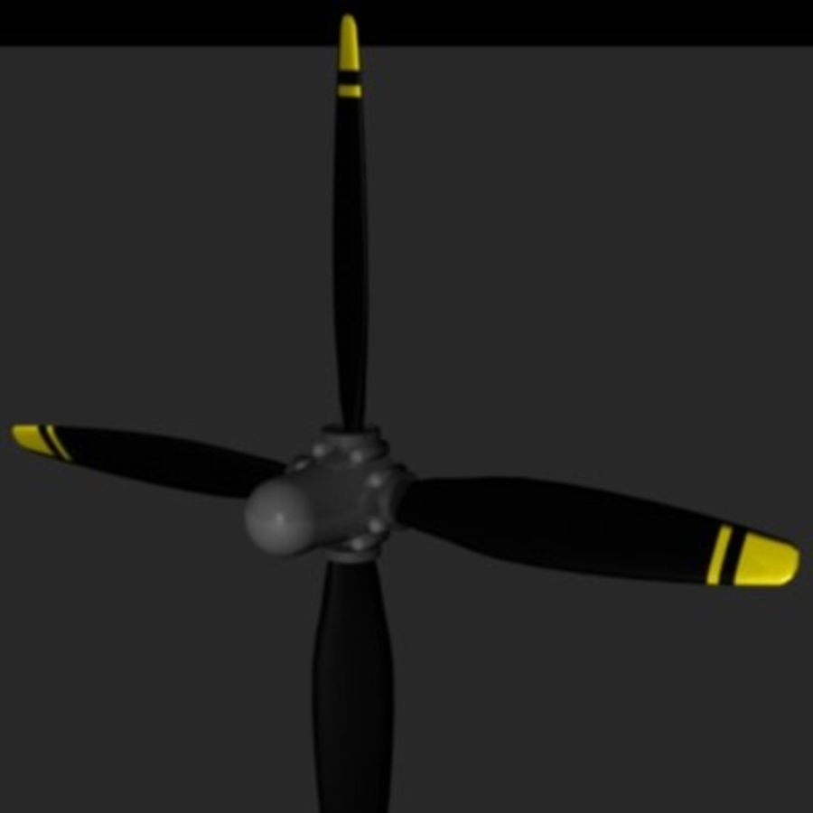 Prop / Airscrew Factory-3ds.zip royalty-free 3d model - Preview no. 4