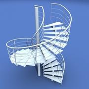 spiral_stair_3ds 3d model