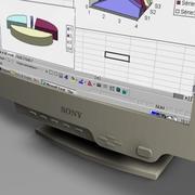 monitor_sony 19.zip 3d model