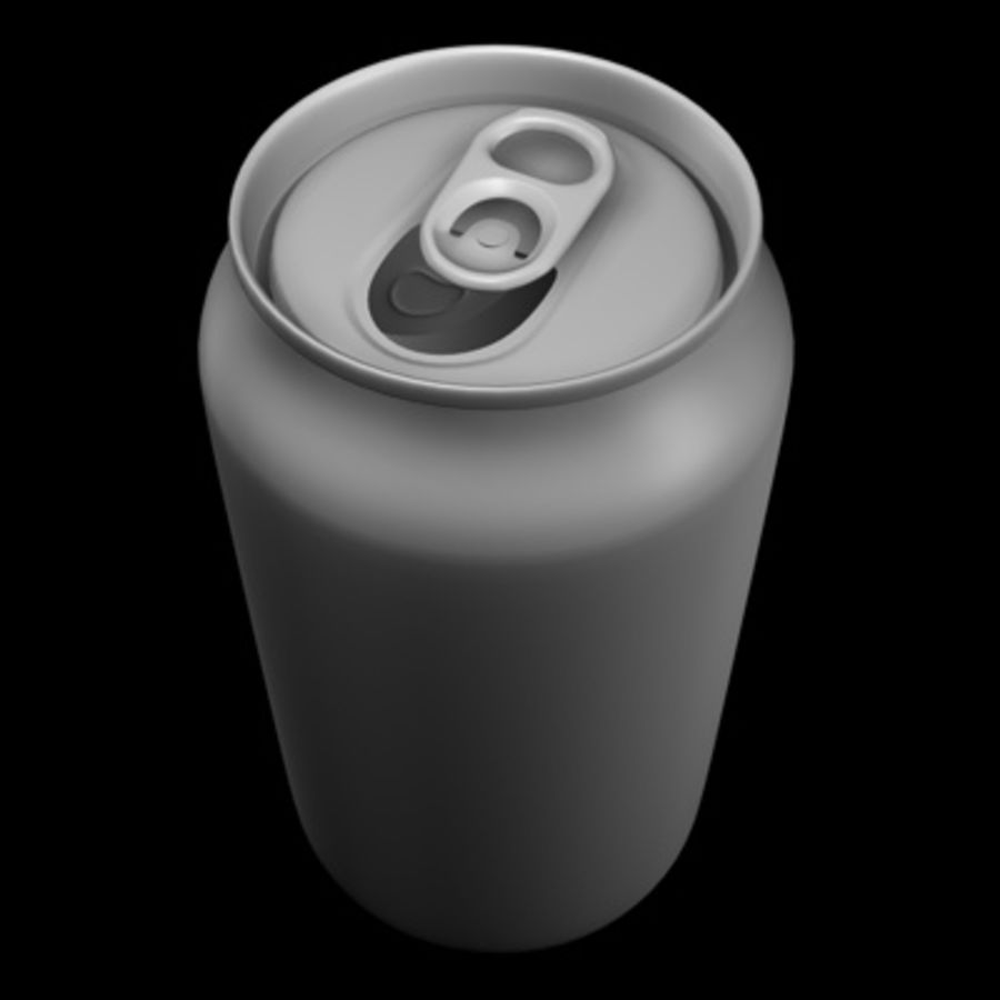 soda-beer can royalty-free 3d model - Preview no. 1