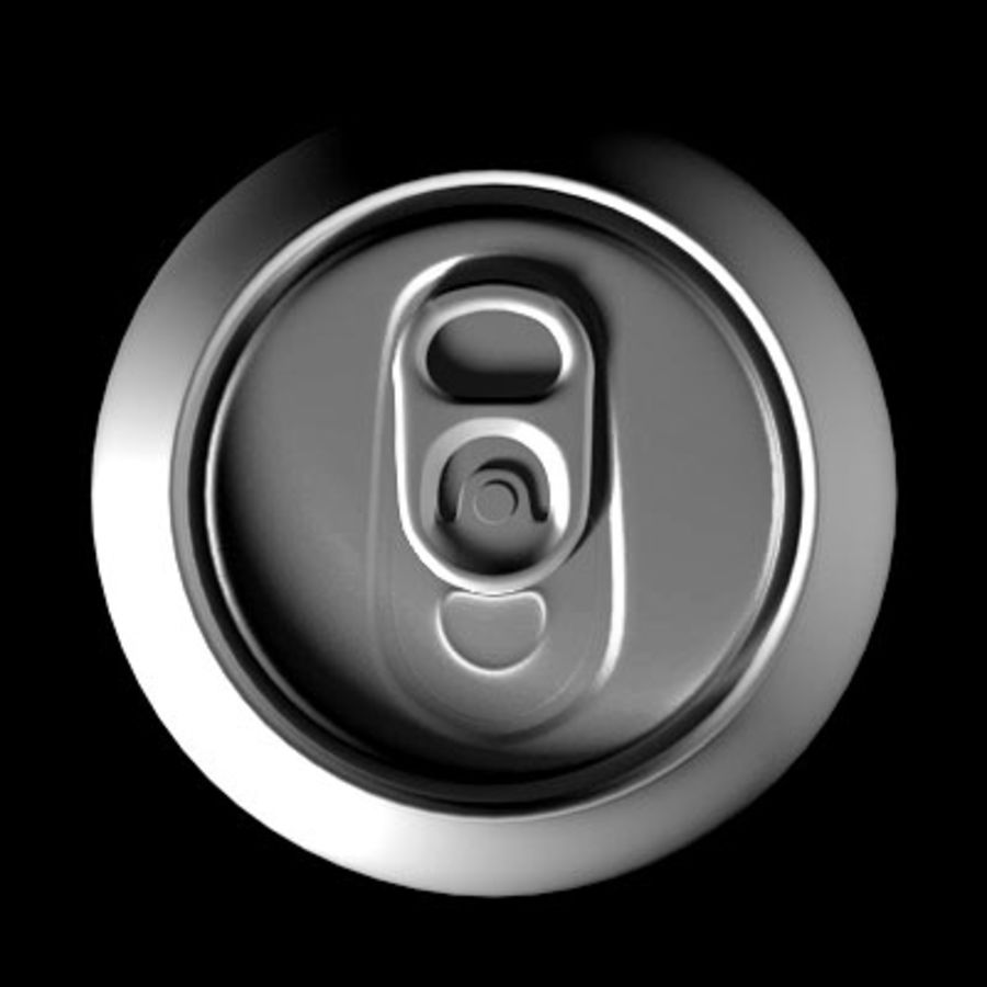 soda-beer can royalty-free 3d model - Preview no. 5