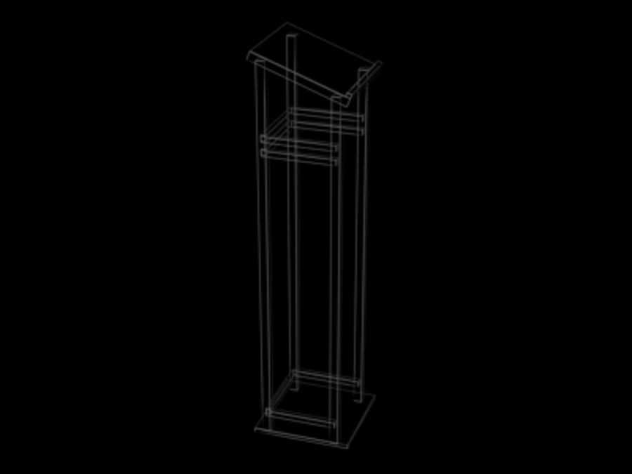 Podium.3ds royalty-free 3d model - Preview no. 2