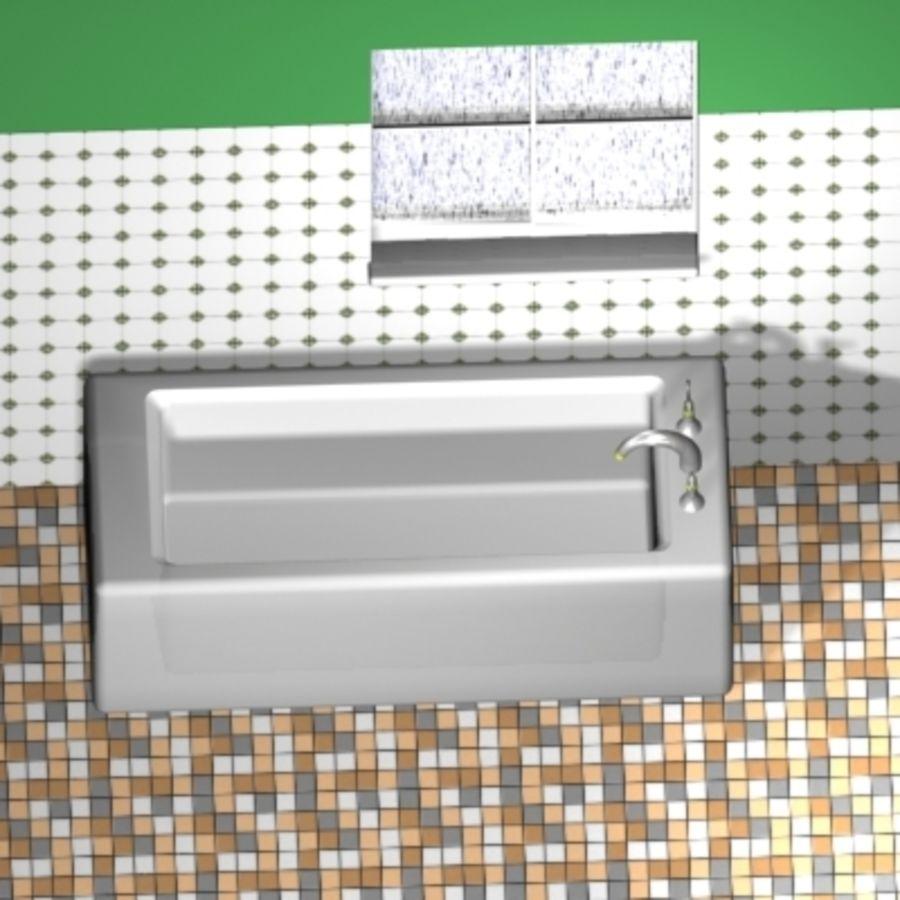 bathroom4.max.zip royalty-free 3d model - Preview no. 4