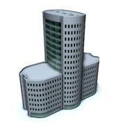 Şehir Binası 1.1 (c4d) .zip 3d model