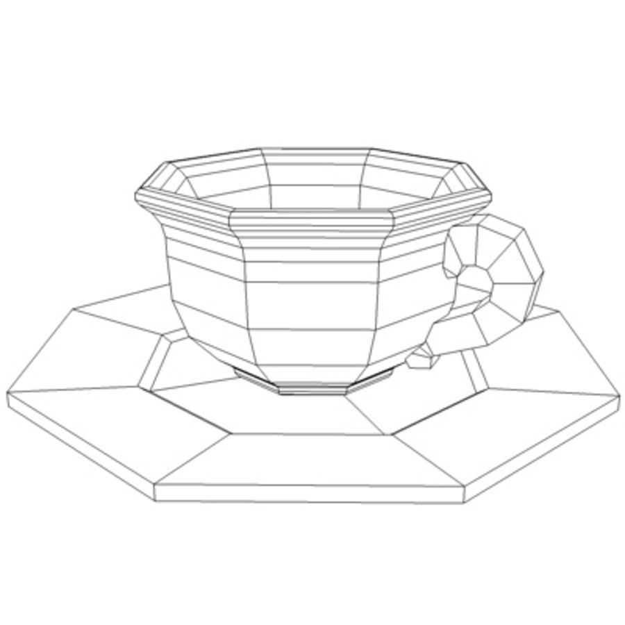 Coffee Cup Platezip 3d Model 20 C4d Dxf 3ds Free3d