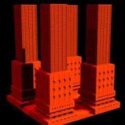 建筑03_3ds 3d model