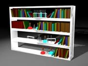 library_3ds.zip 3d model