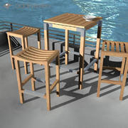 Deck Furniture 3d model