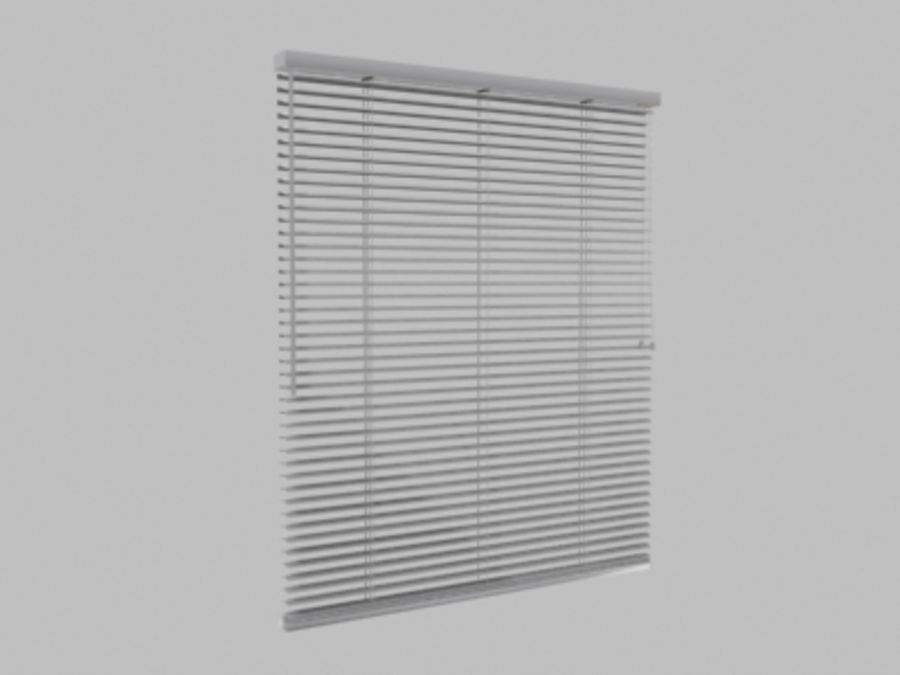 blinds royalty-free 3d model - Preview no. 1