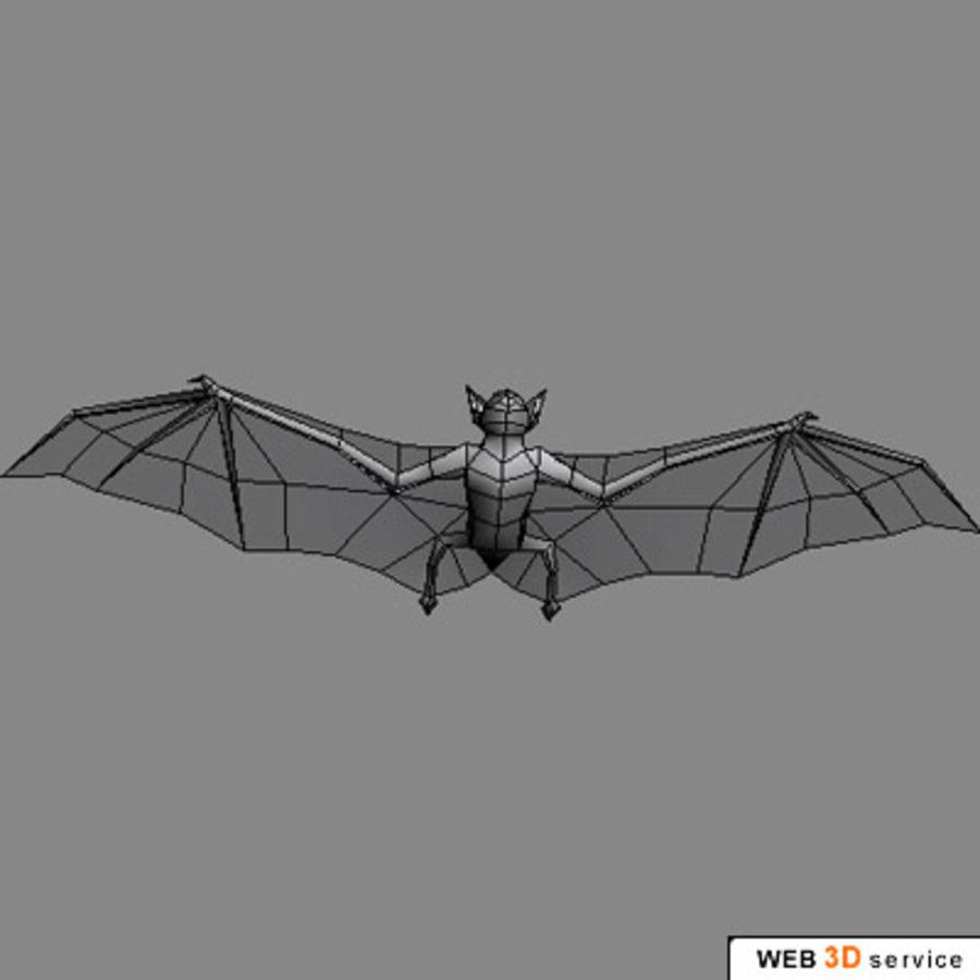 bat.3DS royalty-free 3d model - Preview no. 4