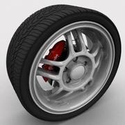 Rueda sep03 modelo 3d