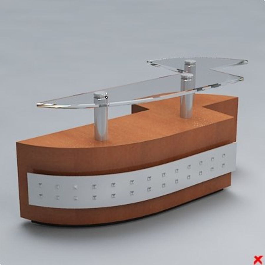 Counter007.ZIP royalty-free 3d model - Preview no. 1