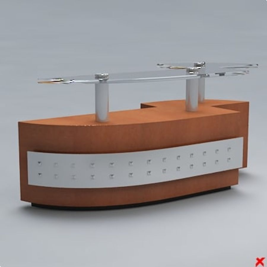 Counter007.ZIP royalty-free 3d model - Preview no. 2