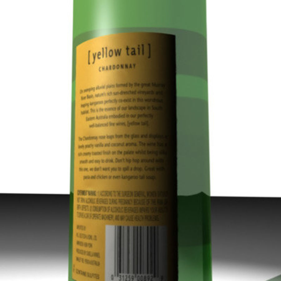 yellowtail2.zip royalty-free 3d model - Preview no. 2