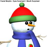 SP_SnowMan001 3d model