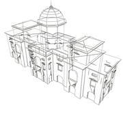 Low_poly_building_902_3ds.zip 3d model
