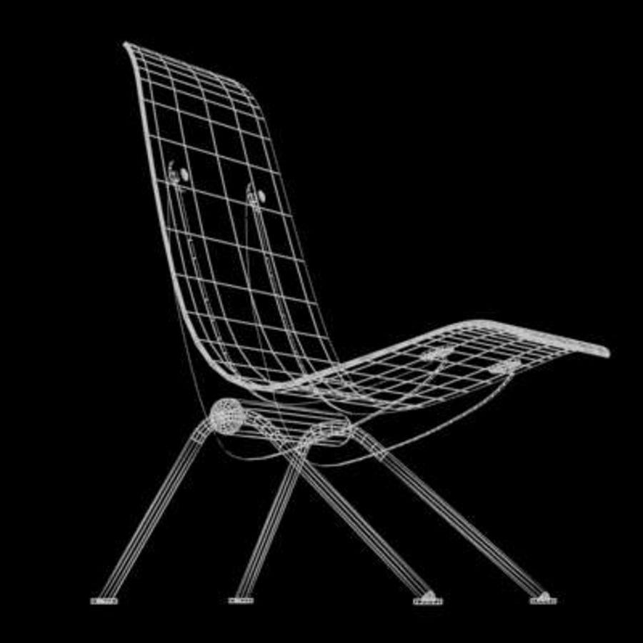 Antony Chair Jean Prouvé royalty-free 3d model - Preview no. 5