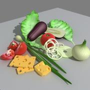 food_3ds.zip 3d model