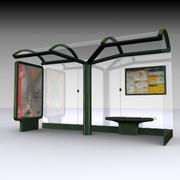 Bus Shelter 2 3DS 3d model