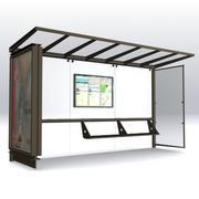 BusShelter 3 최대 3d model