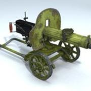 Maxim machine gun 3d model