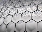 Cupola geodetica da 50 metri 3d model